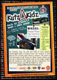 kutz 4 kidz free back to haircuts free fun in austin