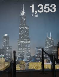 skydeck chicago at the willis tower mom with a map travel with
