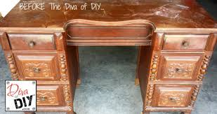 Beautiful Desk Beautiful Desk Makeover Diva Of Diy