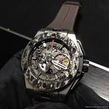 golden ferrari price baselworld 2015 introducing the hublot big bang ferrari carbon