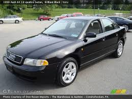 99 audi a4 2 8 quattro 1999 audi a4 2 8 quattro sedan in brilliant black click to see