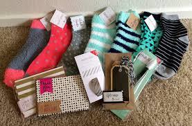 target dollar spot haul stationary socks