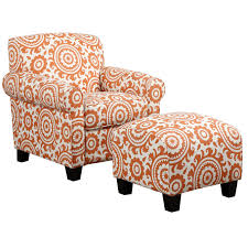 Orange Accent Chair Bedroom Attractive Cheap Accent Chair Make Awesome Your Home