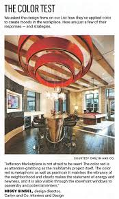 Washington Dc Interior Design Firms by Carlyn And Company Ranked Among Top 25 Interior Design Firms In