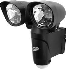 battery powered security light 6v battery powered outdoor dual head security light global pc