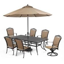 Beachmont Outdoor Patio Furniture Beachmont Outdoor Patio Furniture 10 Dining Set 84 X