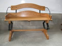 oak buggy wagon buckboard bench seat bench seat hardware and