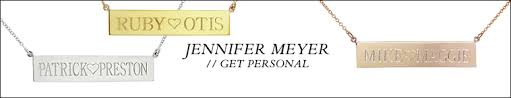Name Plates Necklaces Nameplate Necklaces By Jennifer Meyer Ylang 23
