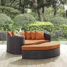 Outdoor Furniture Daybed Latitude Run Ryele Outdoor Patio Daybed With Cushions U0026 Reviews