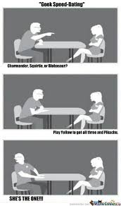 Geek Speed Dating Meme - geek speed dating by zeronitro meme center