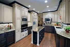 two color kitchen cabinet ideas enchanting painting kitchen cabinets two different colors 17 best