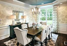 Drapes For Formal Dining Room Dining Table Formal Transitional Dining Room Furniture Oval
