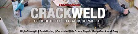 Repair Concrete Patio Cracks Crackweld Concrete Floor Repair Kits For Slabs And Driveways