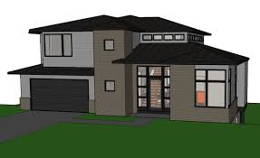 contemporary house plan for sloping lot youtube