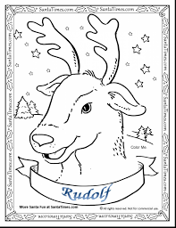 rudolph red nosed reindeer coloring pages ppinews