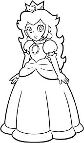 13 pics of peach mario kart coloring pages mario princess peach