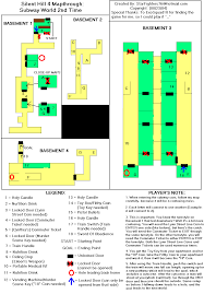 silent hill 4 the room game maps