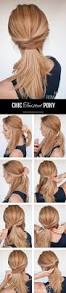 3 chic ponytail tutorials to lift your everyday hair game hair