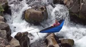 the hydro hammock is a tub in a hammock