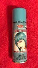 turquoise goodmark halloween temporary hair color spray wash