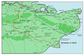 Dover England Map by Village Railways