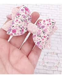 baby hair clip shopping sales on floral hair bow easter hair bow