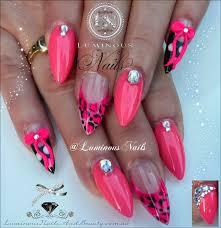 25 stunning leopard print acrylic nail designs u2013 slybury com