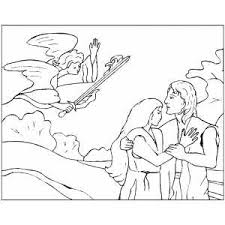 coloring pages adam and eve adam and eve the coloring