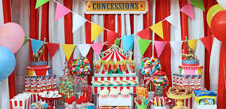 birthday party ideas circus party ideas carnival party ideas at birthday in a box