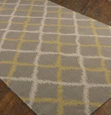 ikat gray wool area rugs zin home