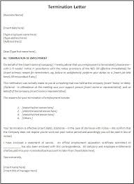 letter of termination of services gallery of sample of termination letter discharge letter sample