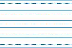 printable lined paper with dotted midline search catalog at classwish org