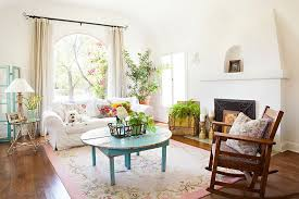 flea market finds are always a hit in the shabby chic living room