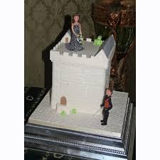 medieval castle castle wedding cakes personalised bride