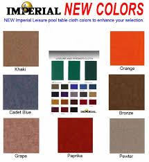 Imperial Pool Table by Imperial Leisure Billiard Cloth Pool Table Felt Direct