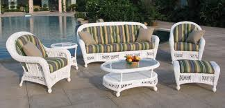 White Patio Furniture Sets Best 25 Outdoor Wicker Furniture Clearance Ideas On Pinterest With