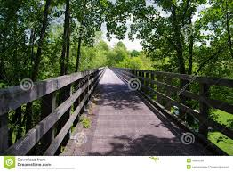 Virginia Creeper Trail Map by Trestle Bridge On The Virginia Creeper Trail Stock Photo Image