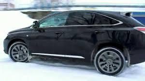 lexus awd hatchback lexus rx 350 prezentacja w ruchu youtube