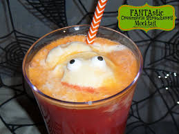 halloween party alcoholic drinks fantastic creamsicle strawberry mocktail for your halloween party