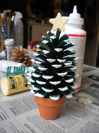 pine cone christmas trees crafting with friends pinterest