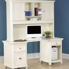 corner desk with hutch white deluxe wood desk with hutch in white