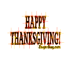 happy thanksgiving sparkle text with glitter graphic greeting