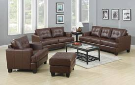 Brown Leather Sofa And Loveseat Leather Sofa Sofa Sets Loveseat Chair Leather Furniture At