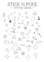 World Map Outline Tattoo by Designing A Few Stick U0027n Poke Tattoo Ideas Hope You Like