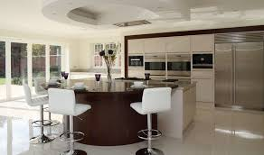 kitchen island with bar black and white bar stools how to choose and use them