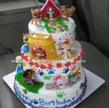 birthday cake shop coolest littlest pet shop birthday cake pet shop birthday cakes