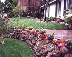 using rocks in landscaping