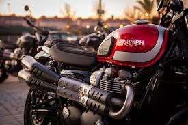 triumph motocross bike 2017 triumph scrambler first ride review