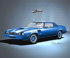 light blue camaro 1978 1979 chevrolet camaro automotive car print by danny