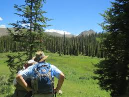 Vail Mountain Map Vail Valley Backcountry Hikes